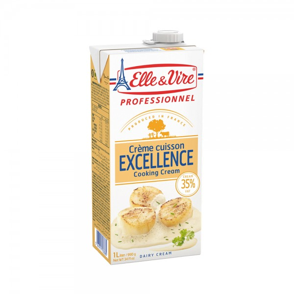 Elle & Vire Crème Fraiche Special Cuisson 1L