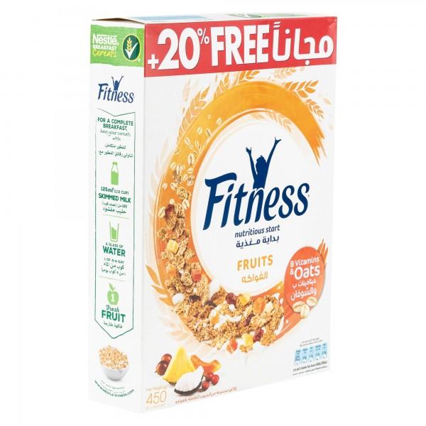 Nestle Fitness Fruits Breakfast Cereal 375G