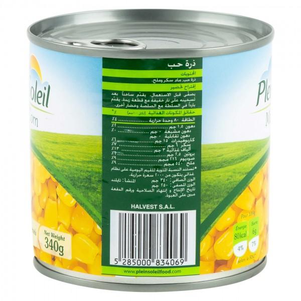 Plein Soleil Sweet Corn Canned 340G
