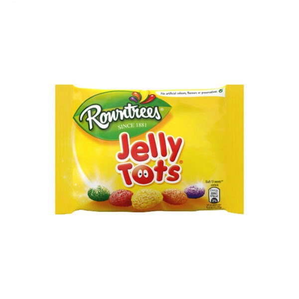 Nestle Rowntrees Jelly Tots Bag 1 Piece