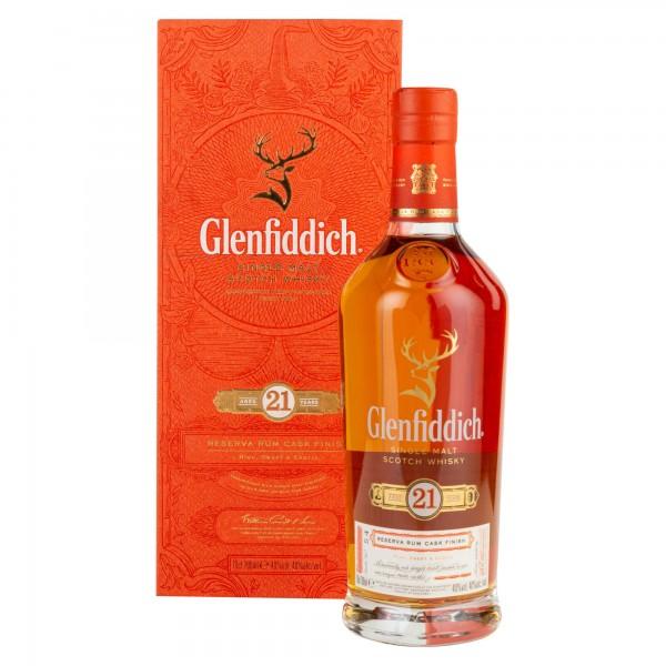Glenfiddich Single Malt Scotch Whisky 21 Years 75cl