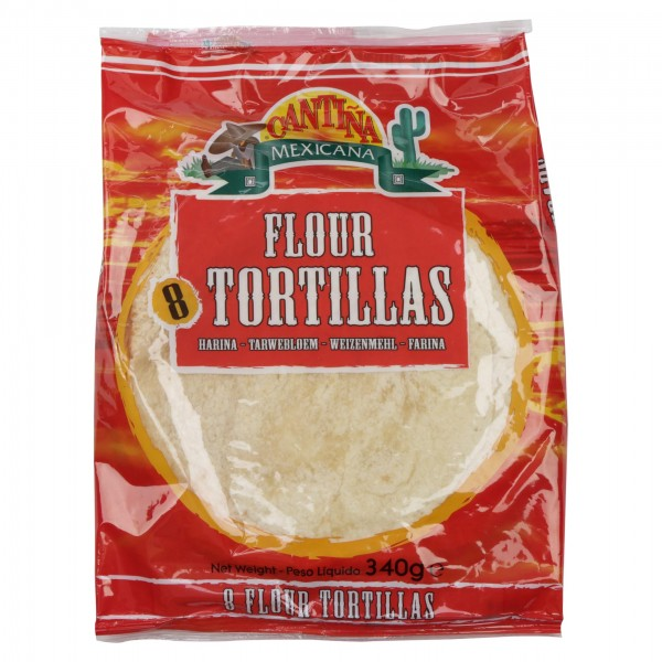 Cantina Flour Tortillas 8 Pieces 350G