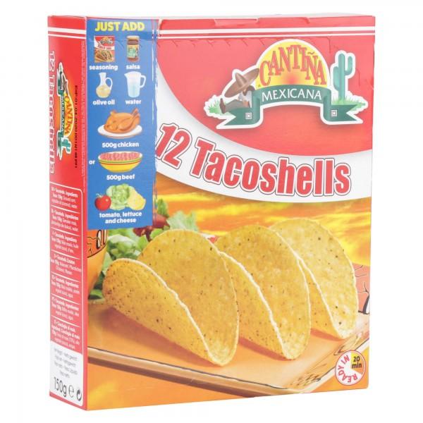 Cantina Taco Shells 12 Pieces 150G