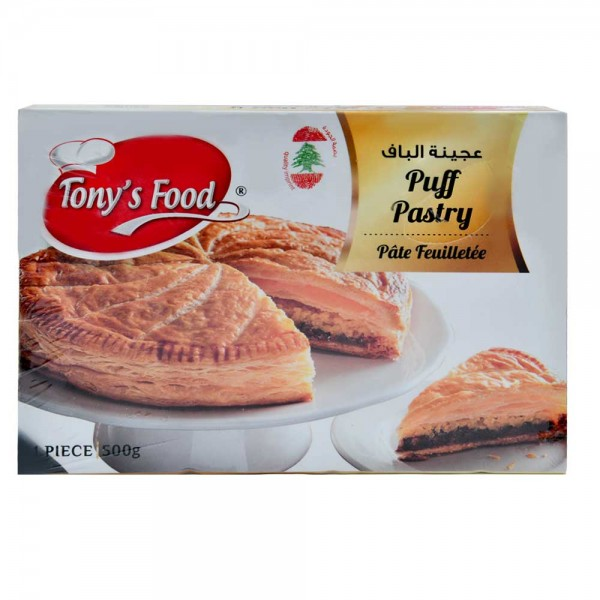 Tonys Food Pates Puff Pastry - 500G