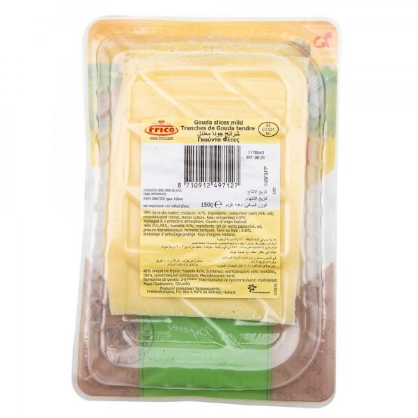 Frico Gouda Slices Mild Cheese 150G