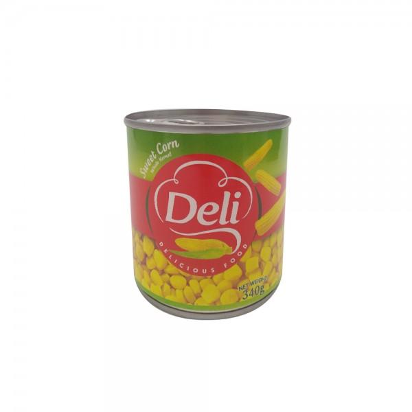 Deli Sweet Corn With Cap.  - 340G