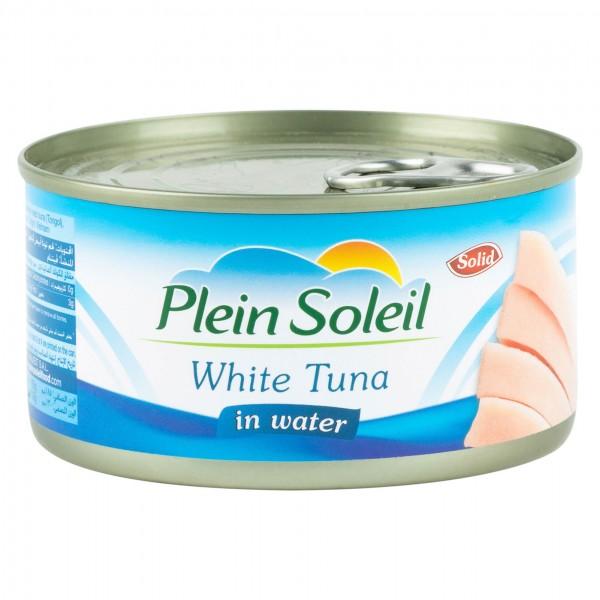 Plein Soleil White Tuna in Water Canned 185G