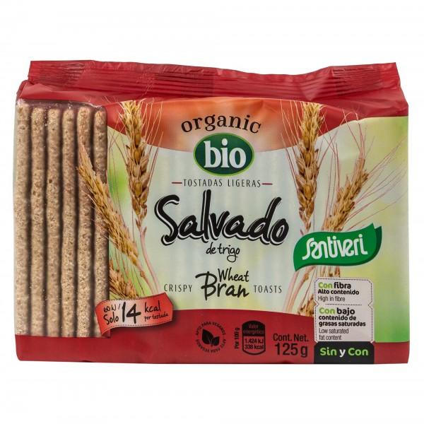 Santiveri Bio Salvado De Trigo Wheat Bran Toasts 125G