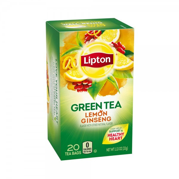 GREEN TEA LEMON+GINSENG