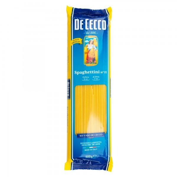 De Cecco Spaghettini 11 500G