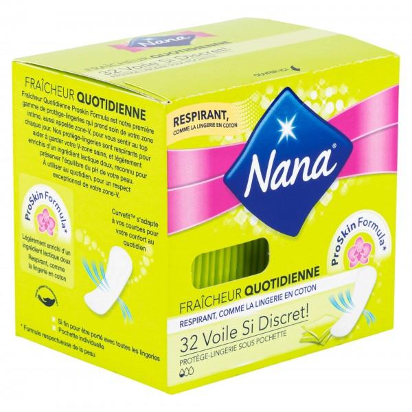 Nana Protege-epilip Fraicheur Quotidienne Plies 32'S