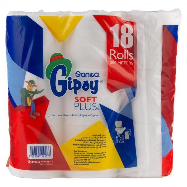 Gipsy Toilet Roll 18 Roll