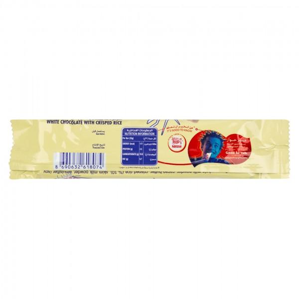 Nestle Crunch White Chocolate Bar 33G