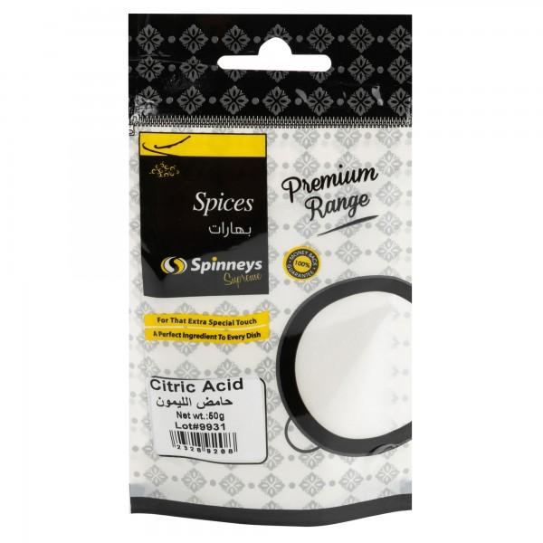 Spinneys Citric Acid 50G
