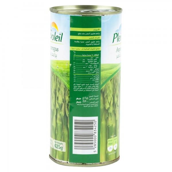 Plein Soleil Green Asparagus Canned 425G