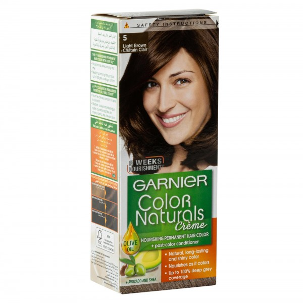 Garnier Color Naturals 5 Light Brown 1Pc