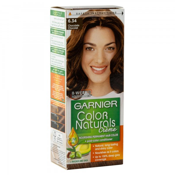 Garnier Color Naturals 6.34 Chocolate Brown 1 Pc