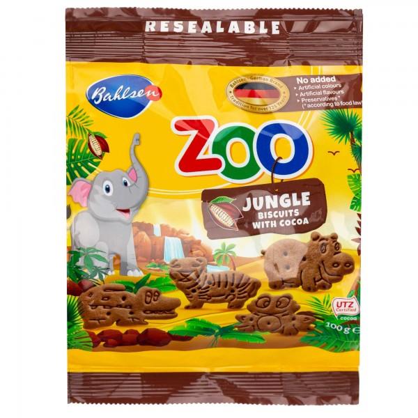 Bahlsen Leibniz Zoo Butter Biscuits 100G