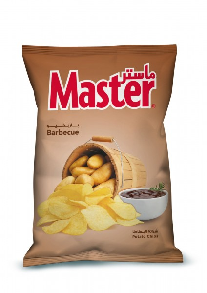 Master Chips Barbeque - 119G