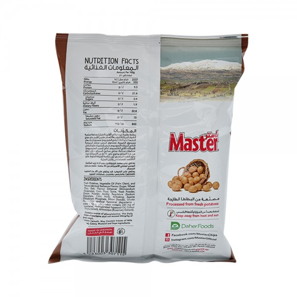 Master Chips Barbecue 34g