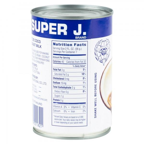 Super J. Coconut Milk 400ml