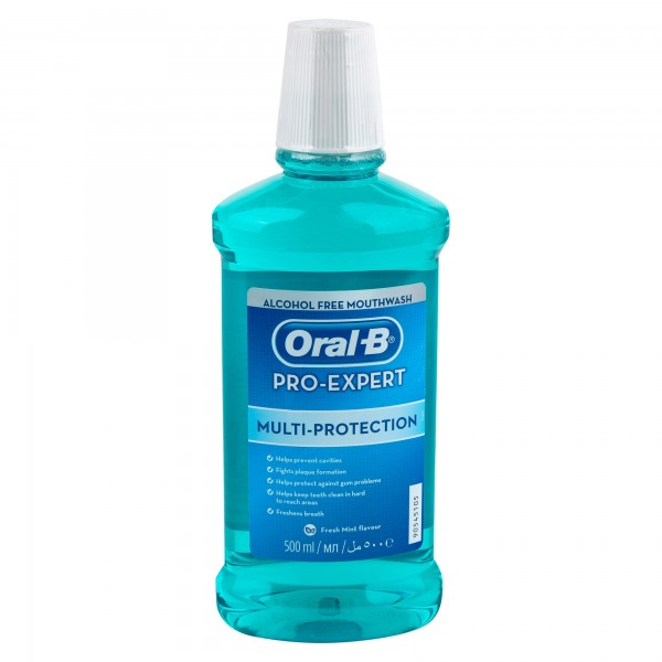 Oral-B Pro-Expert Multi-Protection Mouthwash 500ml