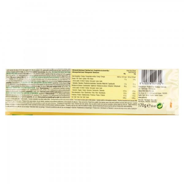 Gullon Digestive Sugar Free 170G