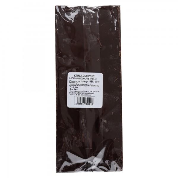 Karla Bloc Chocolate Noir (Dark) 500G