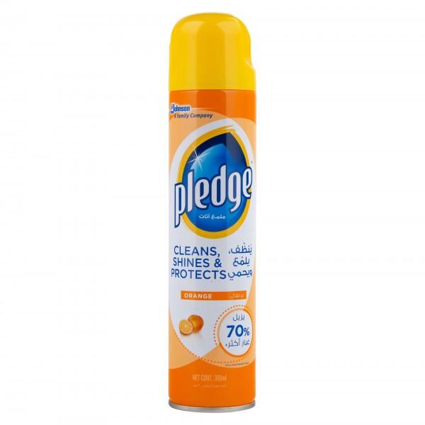 Pledge Orange clean Furniture Spray 300ml