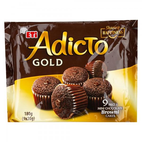Eti Browni Gold Mini Chocolate Cakes 180G