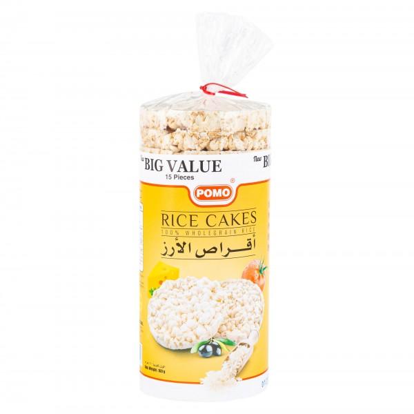 Pomo Gluten Free Rice Cakes 15 Pieces