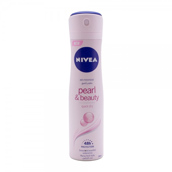 Nivea Spray Deodrant Pearl and Beauty For Her 150ml