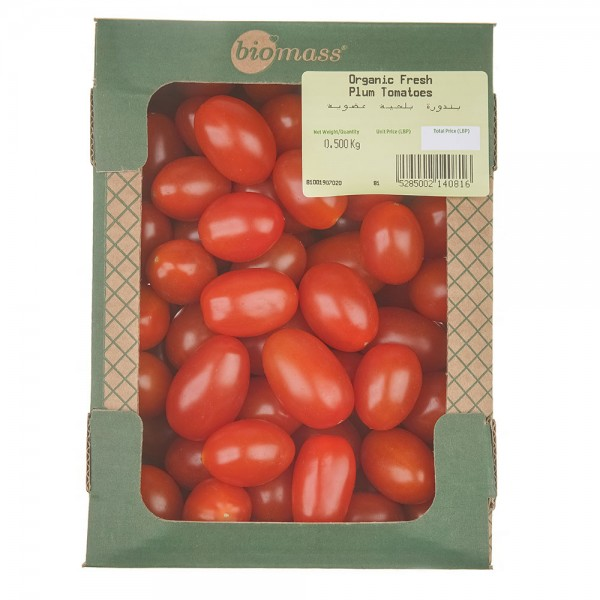 Biomass Biomass Plum Tomatoes