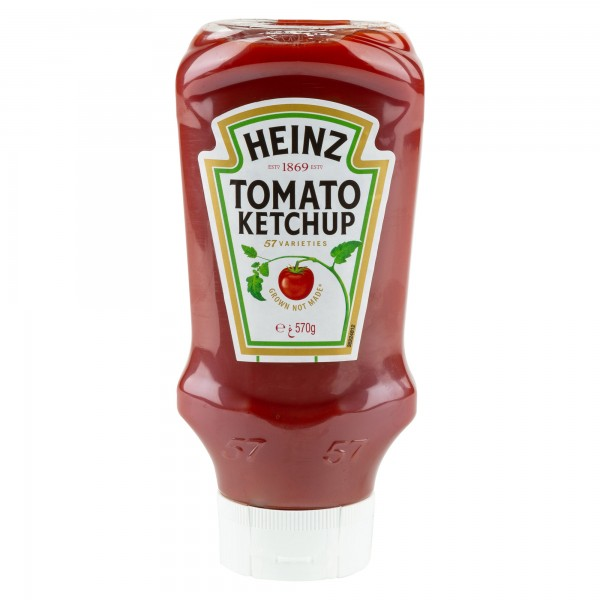 Heinz Tomato Ketchup Top Down 570G