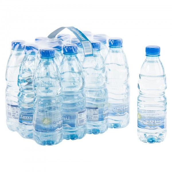 Tannourine Natural Spring Mineral Water 12x330ml