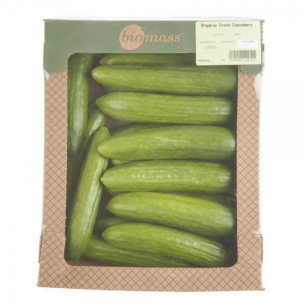 Biomass Organic Big Cucumbers 1 Kg