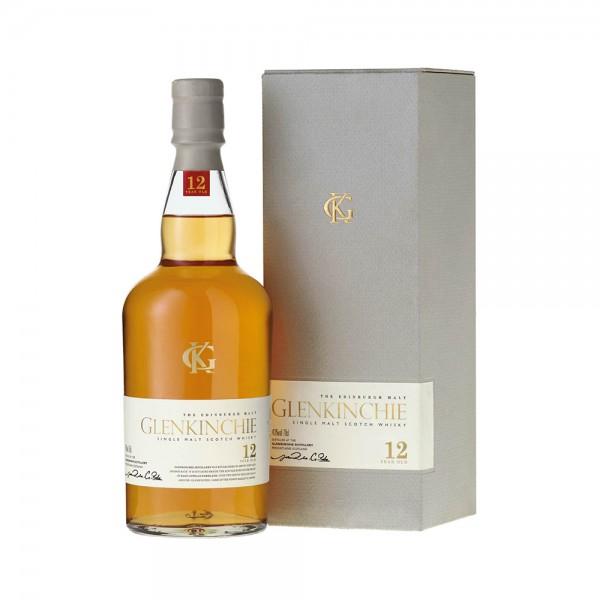 Single Malt Scotch Whisky Glenkinchie 12 Years 75CL