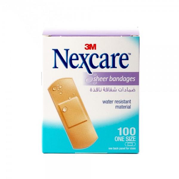 Nexcare 656-100 Sheer - 100Pc