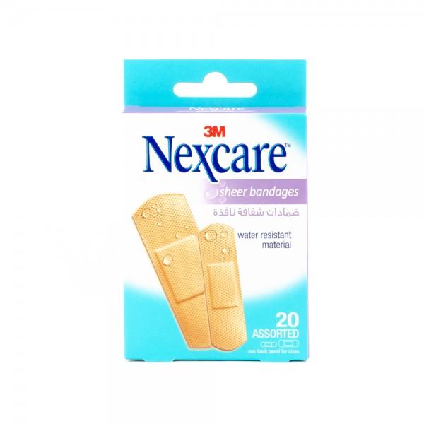 Nexcare 658-20 Assorted - 20Pc