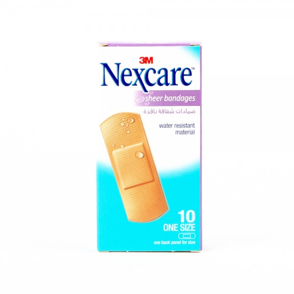 Nexcare 656-10 Sheer - 10Pc