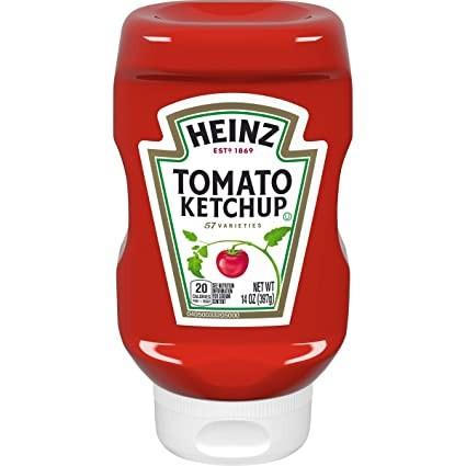 Heinz Ketchup Upside Down