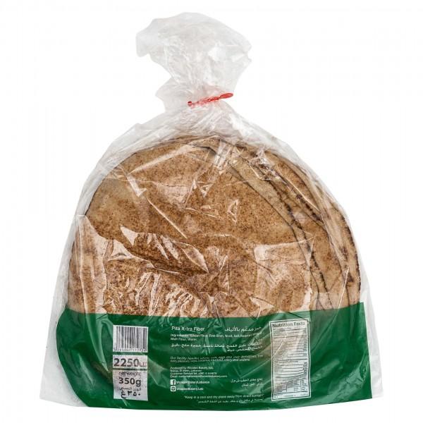 Wooden Bakery Pita X-Tra Fiber 8 Loaves 350G