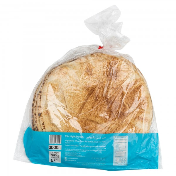 Wooden Bakery Pita High Protein 6 Loaves 400G