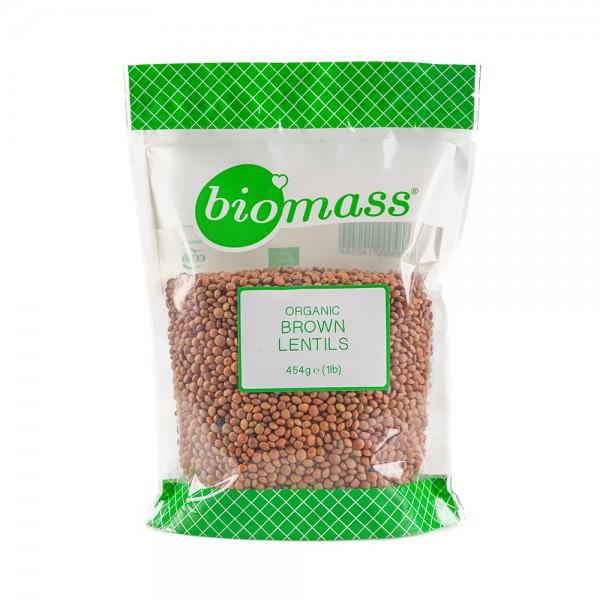 Biomass Brown Lentil