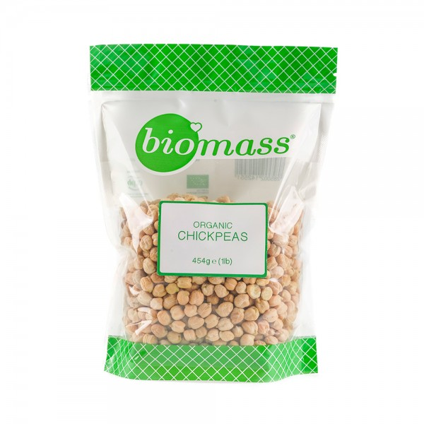 Biomass Chickpeas  - 454G
