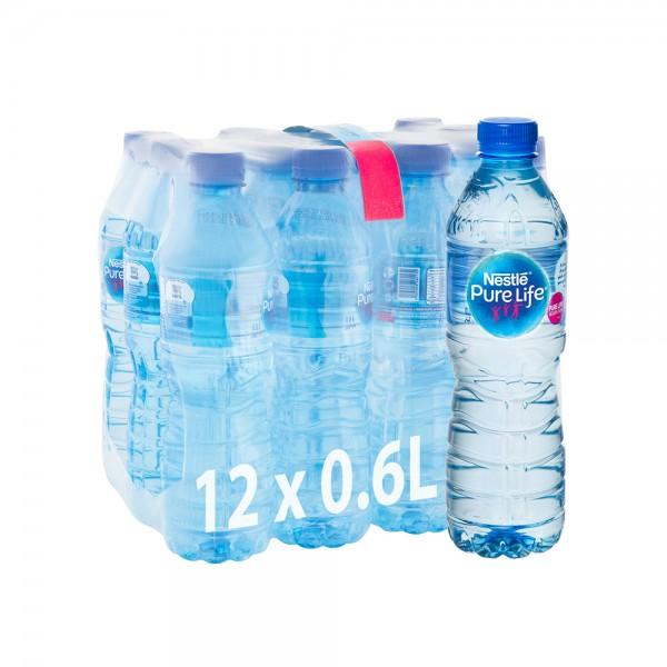 Nestle Mineral Water Bottle 12x600ml