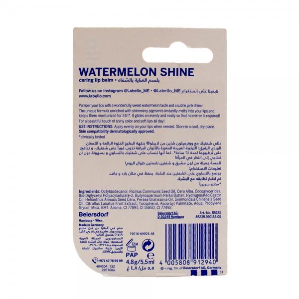 Labello Fruity Shine Watermelon 4.8G