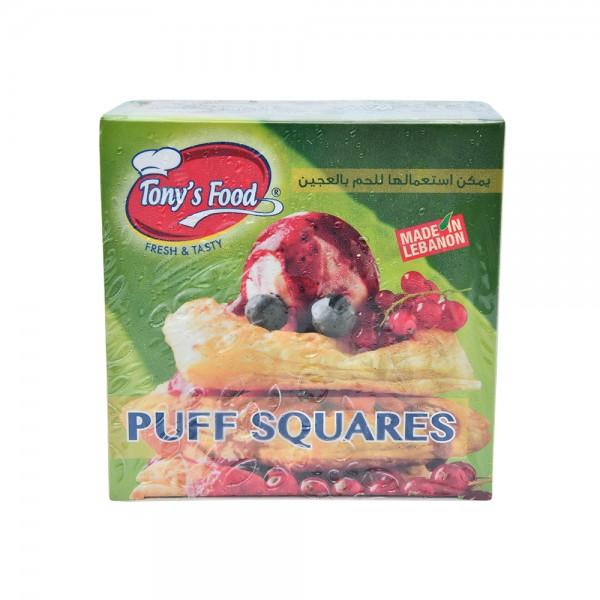 Tonys Food Puff Squares 400g