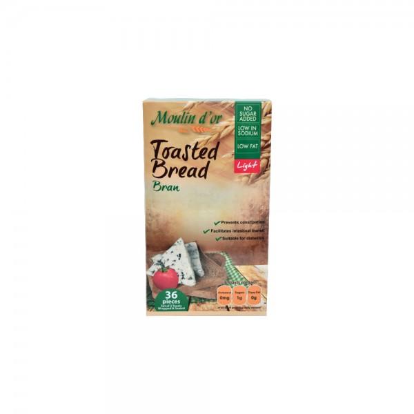 Moulin D'Or Toast Croustillant Au Son 390g