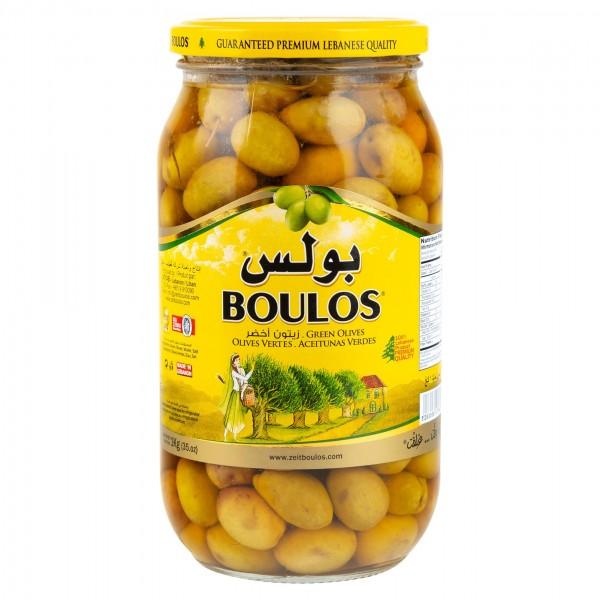 Boulos Green Olives 1Kg